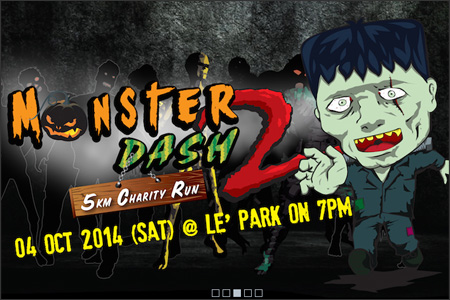Monster Dash 5KM Charity Run
